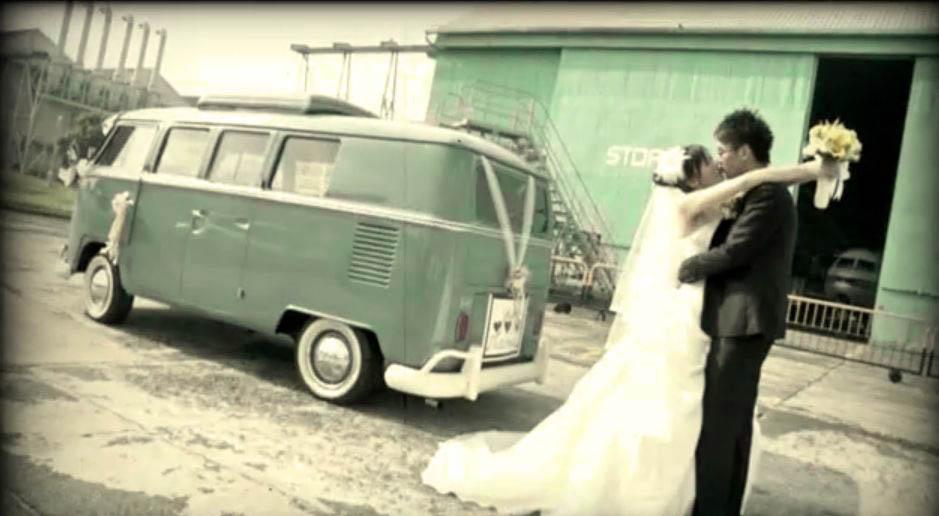 Retro Themed Wedding